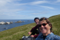 Lunching at  Muckle Flugga