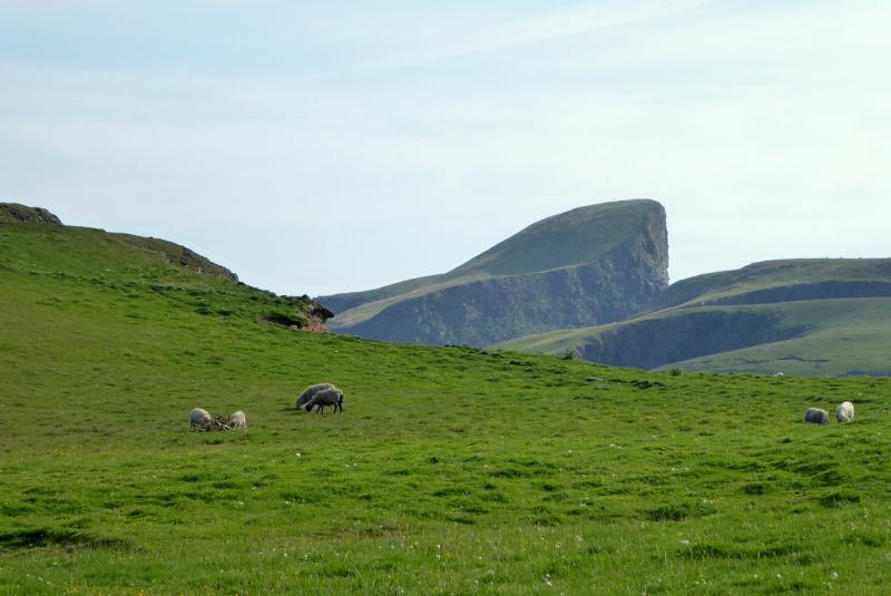 Fair Isle scenery
