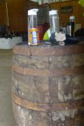 At the Ardbeg distillery