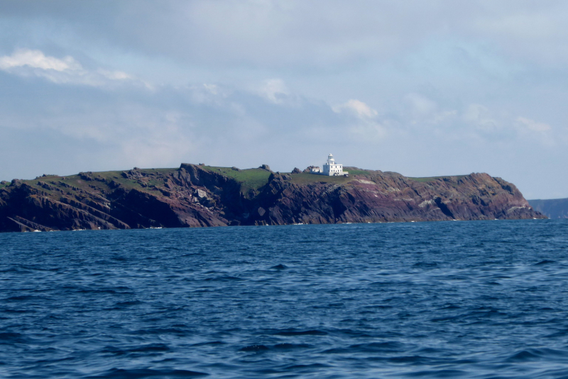 Skokholm Island light