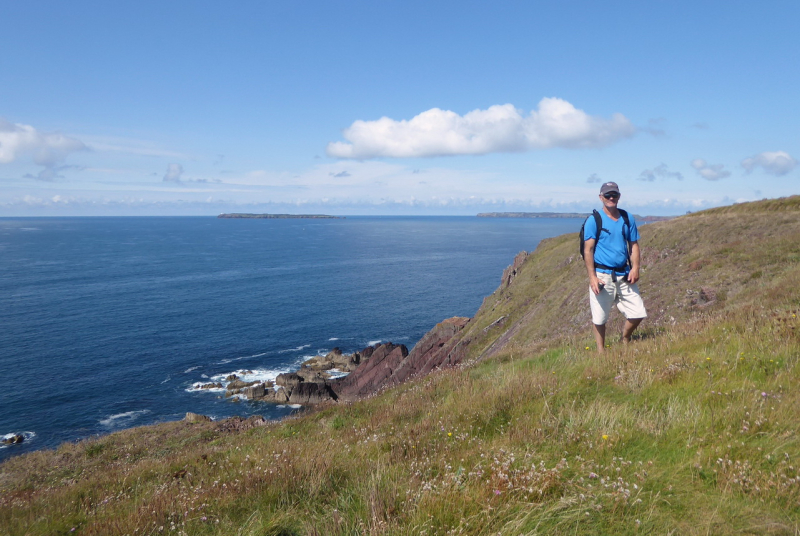 GG on the coastal path