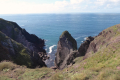 Old Red Sandstone cliffs