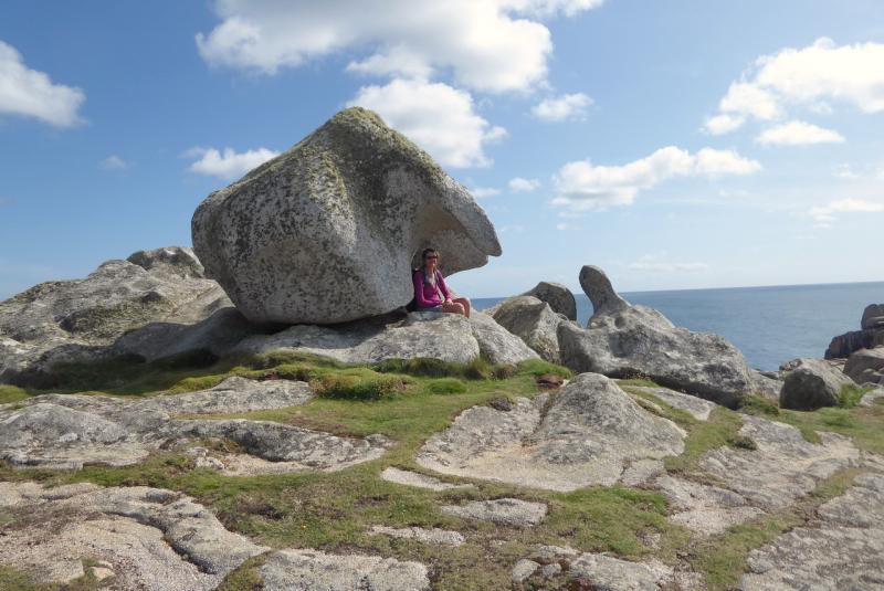 Scultped granite