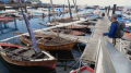 Dinghy dock in Bueu