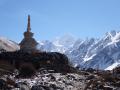 Himalayas on Tibet border