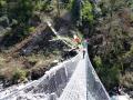 GG crosses a bridge