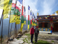 Visiting the Gompa