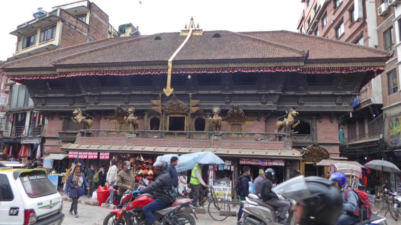 Kathmandu_Akash Bhairab Temple