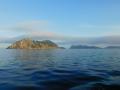 Leaving Isla Cies astern