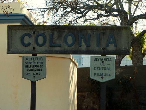 Sign at Train Station