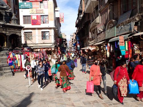 B Kathmandu street scene