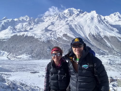 L March 20 GG and LE on top of Kyangjing Ri