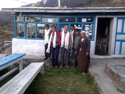 TA Departing Potala Guesthouse