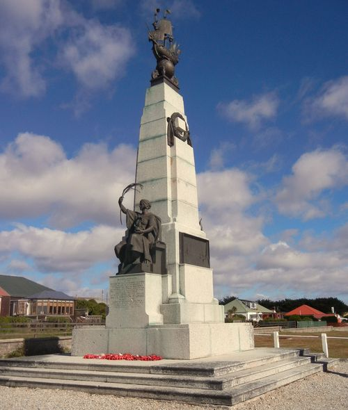 Battle of the Falklands memorial 1914