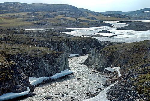 Steep Limestone beds