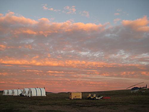 Sunset at Camp