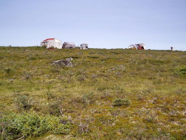 An Old Exploration Camp