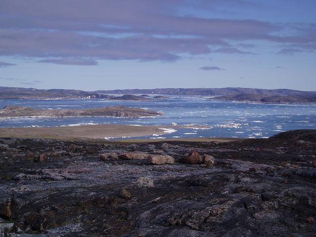 Arctic Ocean at Halkett Inlet