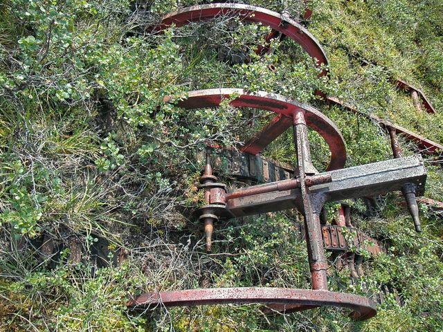 Artsy Shot of rusty machinery