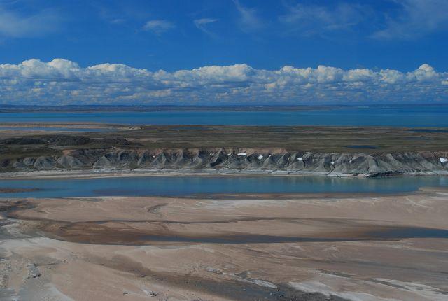 Bank of an arctic river