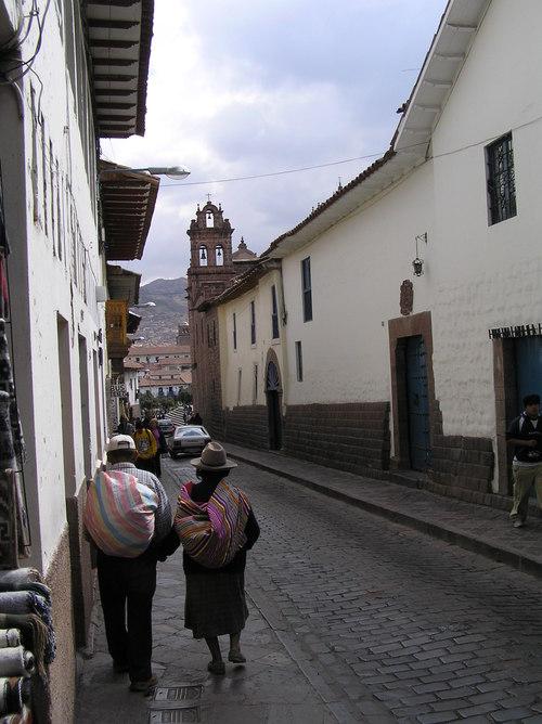 Cuzco street Scene