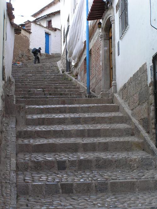 Cuzco stairway
