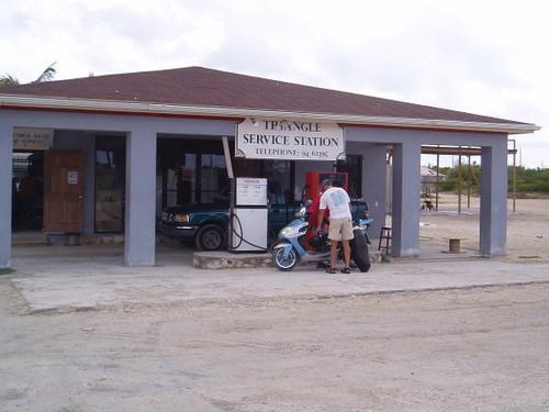 Gas Station, Grand Turk