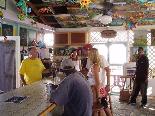 Bar on Salt Cay